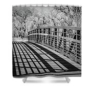 Bridge Shadows Shower Curtain