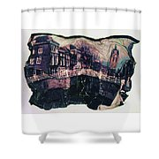Bridge That Curved, Delft, Holland Shower Curtain
