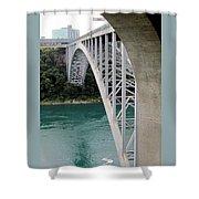 Bridge To New York Shower Curtain