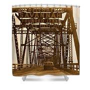 Bridge To Savannah Shower Curtain