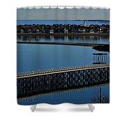 Bridge To Spinnaker Island Shower Curtain