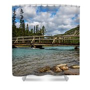 Bridge To The Other Side Shower Curtain