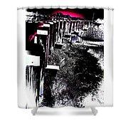 Bridge To Unknown Shower Curtain