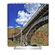 Bridge To Yesteryear Shower Curtain