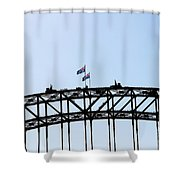 Bridge Walk Shower Curtain