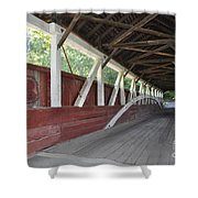 Bridge Work Shower Curtain