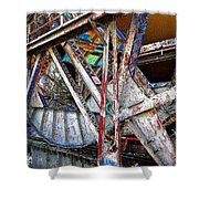 Bridge Works Shower Curtain