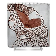 Bridged - Tile Shower Curtain