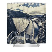 Bridges And Outback Dams Shower Curtain