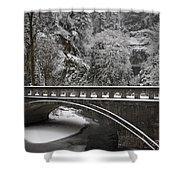 Bridges Of Multnomah Falls Shower Curtain