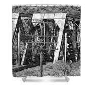 Bridges Of Power Shower Curtain