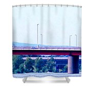 Bridges To The Vienna Woods Shower Curtain