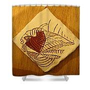 Bridget - Tile Shower Curtain