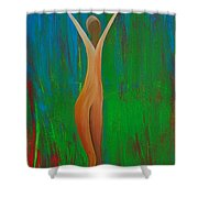 Bridging Heaven And Earth Shower Curtain