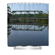 Bridging The Cathance Shower Curtain