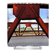 Bridging The Gap Shower Curtain