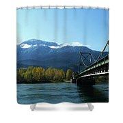 Bridging The Seasons Shower Curtain