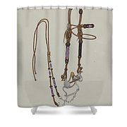 Bridle Shower Curtain