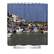 Bridlington Harbour Shower Curtain