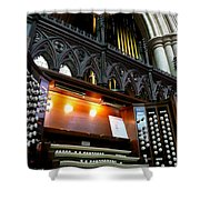 Bridlington Priory Pipe Organ Shower Curtain