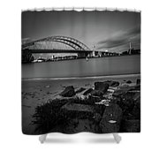 Brienenoordbrug 2 Shower Curtain