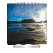 Briery Creek Lake Shower Curtain