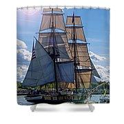 Brig Niagara Iv Shower Curtain