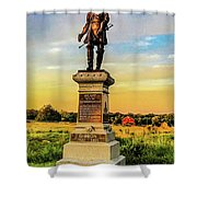 Brigadier General John Gibbon Shower Curtain