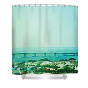 Brigantine Bridge - New Jersey Shower Curtain
