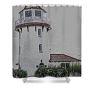 Brigantine Lighthouse Shower Curtain