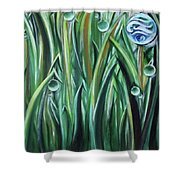 Bright And Shining Shower Curtain