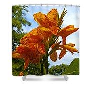Bright Bloom Shower Curtain