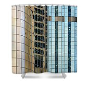 Bright City 2 Shower Curtain