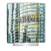 Bright City 3 Shower Curtain