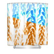 Bright Hanging Plants Shower Curtain