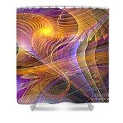 Bright Idea - Square Version Shower Curtain