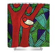 Bright New Day Shower Curtain