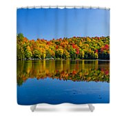 Bright Reflection Shower Curtain