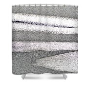 Bright Sun On The Ice  Shower Curtain