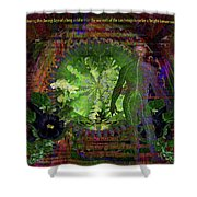 Bright Tomorrow Shower Curtain by Joseph Mosley
