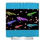 Brightcolorfishes Shower Curtain