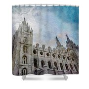 Brightly Beams Shower Curtain