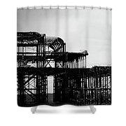 Brighton 2 Shower Curtain