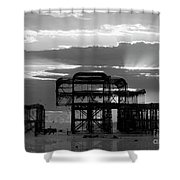 Brighton 3 Shower Curtain