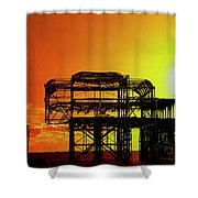 Brighton 4 Shower Curtain