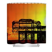 Brighton 4 Shower Curtain