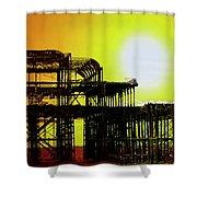 Brighton 5 Shower Curtain