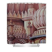 Brighton Palace Shower Curtain