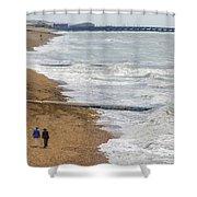 Brighton Shore Shower Curtain