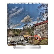 Brightwell's Mill 1 Shower Curtain